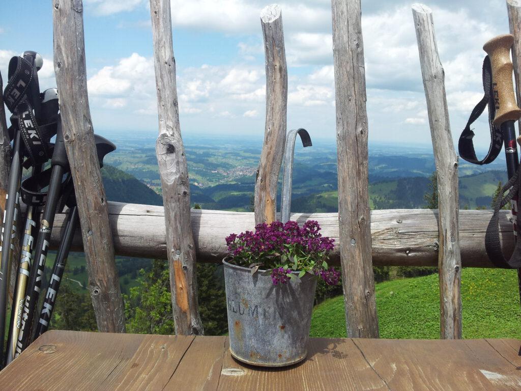 Los gehen, Wandern in Oberstaufen, Fotograf: Claudia Fabian